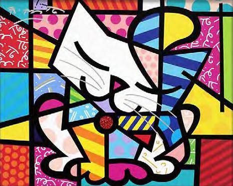 SAM the CAT - Romero Britto