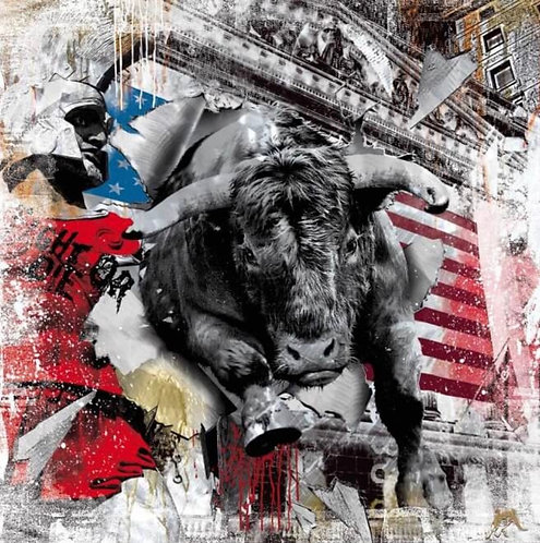 LEONIDAS BULL II - limited  - by Devin Miles