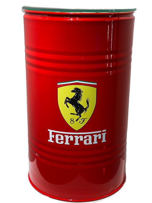 FERRARI red BARREL - limited - by LudoModelo