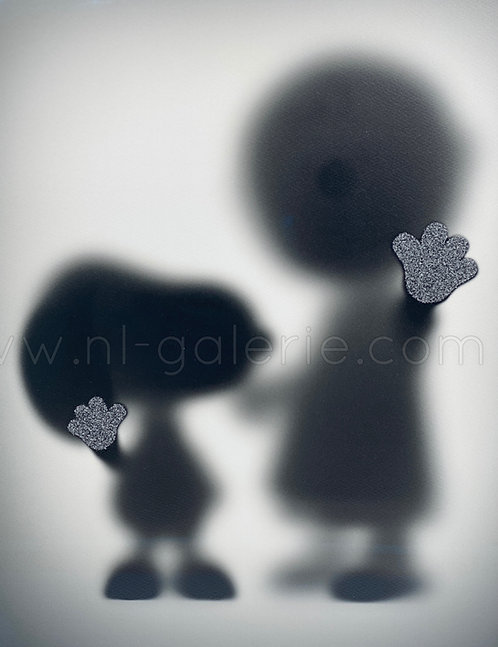 GONE SNOOPY AND CHARLY *diamonds dust edition*  - by whatshisname