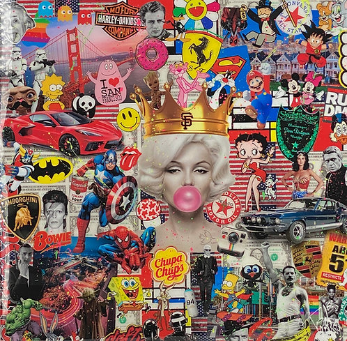 """MARILYN AND FRIEND`S  """"LE SAN FRANCISCO"""" - by TED"""