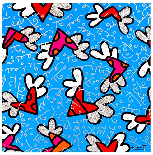 BLUE SKY - Romero Britto