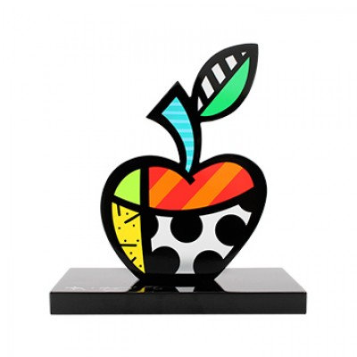 BIG APPLE II - by Romero Britto