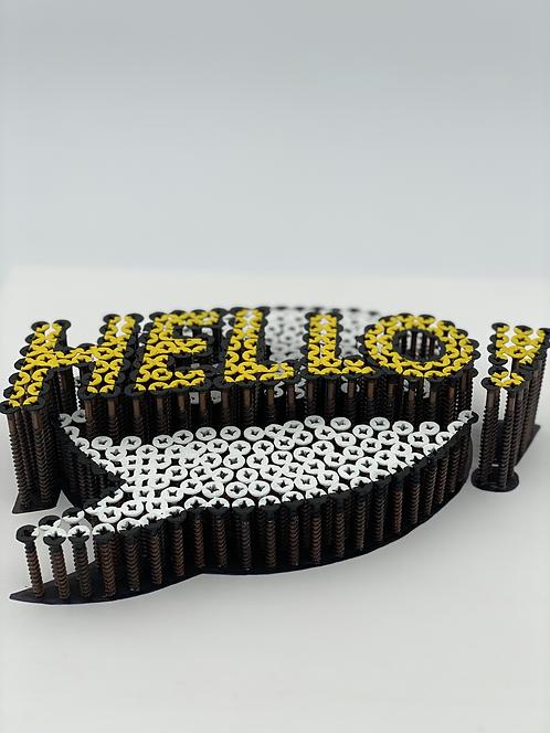 HELLO 3D mini - Alessandro Padovan