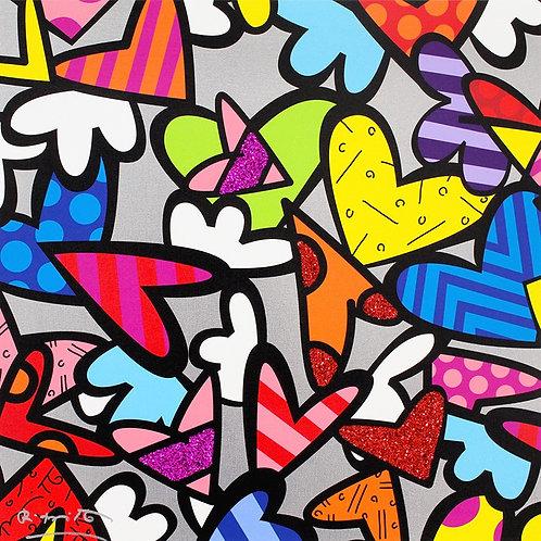 NIGHT LOVE - by Romero Britto