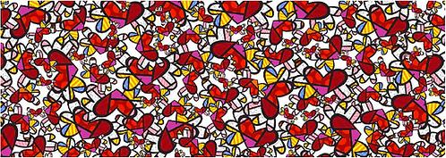 SO MUCH LOVE - by Romero Britto
