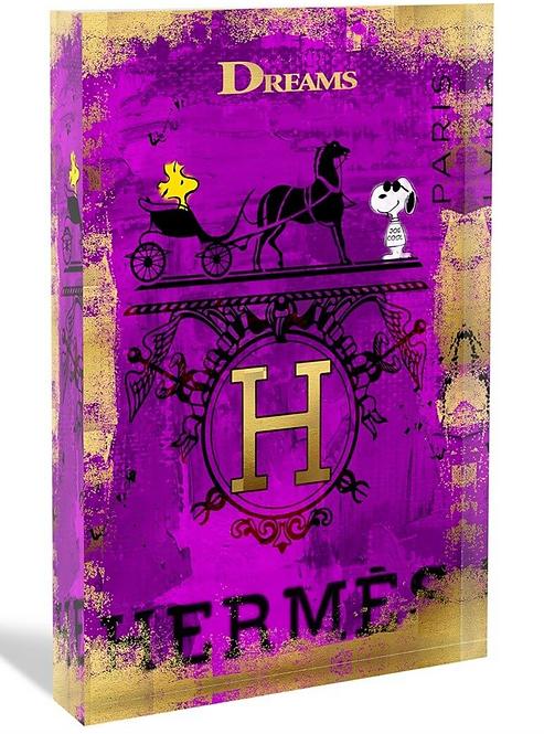 HERMÈS Glas-Acryl-Block - limited  - by Devin Miles
