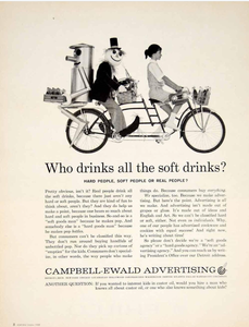 Why don't advertising agencies advertise themselves anymore?