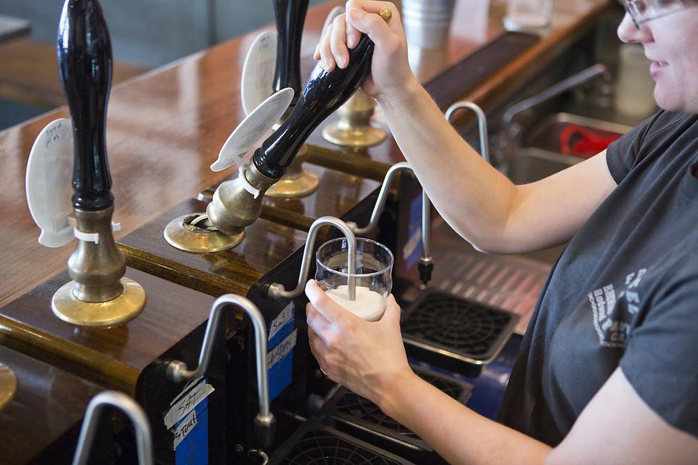 Cask beer image problem