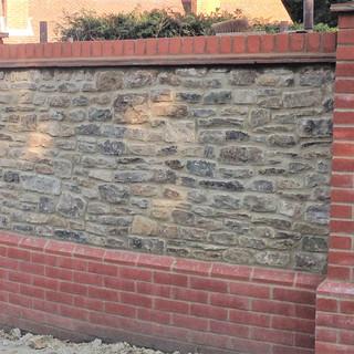 Bargate stone wall