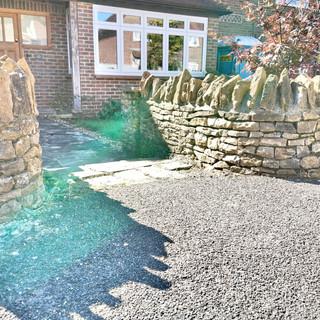 Bargate dry stone walling