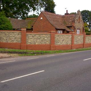 Bargate stone and brick wall