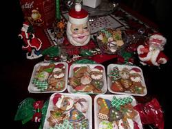 Bolacha de mel de Natal