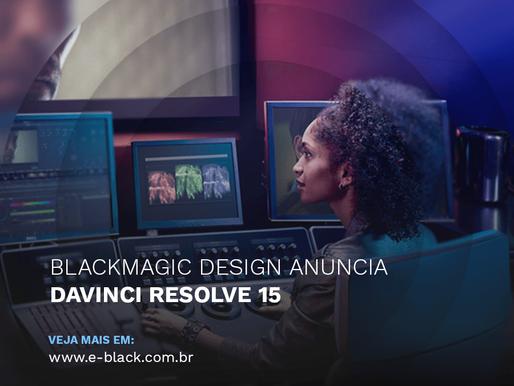 Blackmagic Design Anuncia DaVinci Resolve 15
