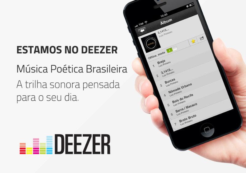 Ouças as músicas do Luiz Pinheiro no Deezer