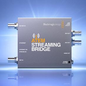 Blackmagic Design Anuncia Novo ATEM Streaming Bridge
