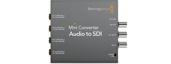Mini Conversor Audio para SDI