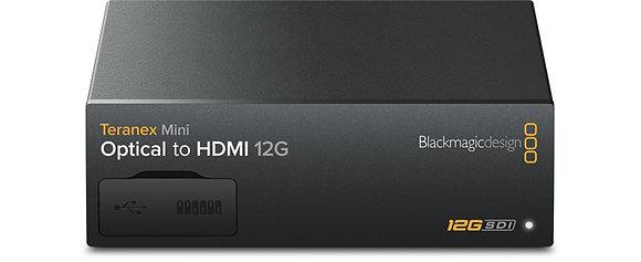 Teranex Mini Optical para HDMI 12G