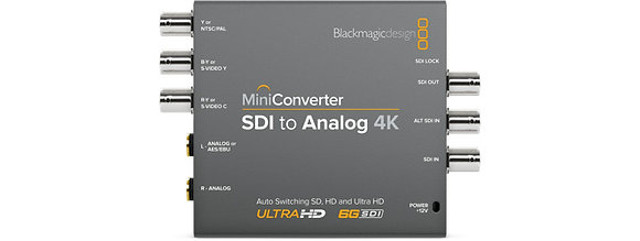 Mini Conversor SDI para Analog 4K