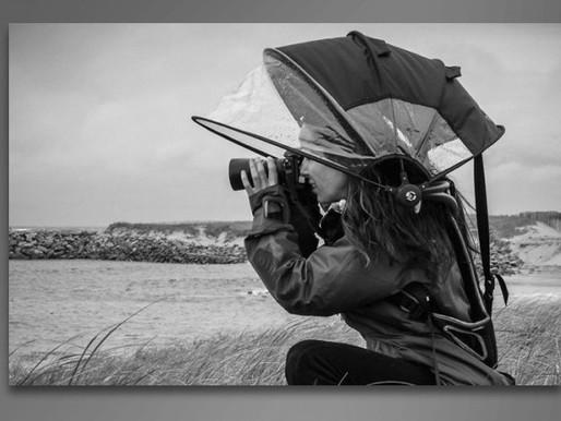 Proteção emergencial contra chuva e poeira