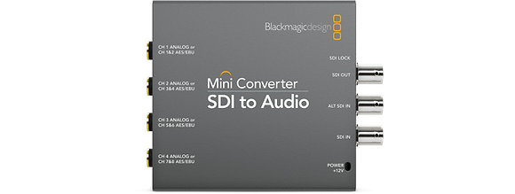 Mini Conversor SDI para Audio