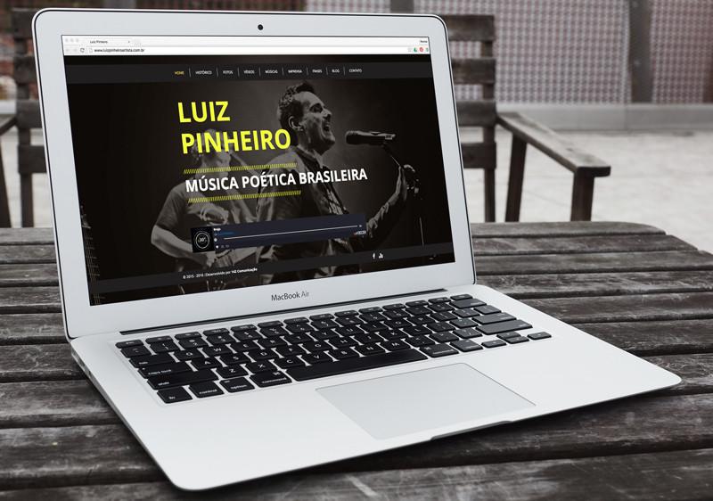 Novo site Luiz Pinheiro Artista
