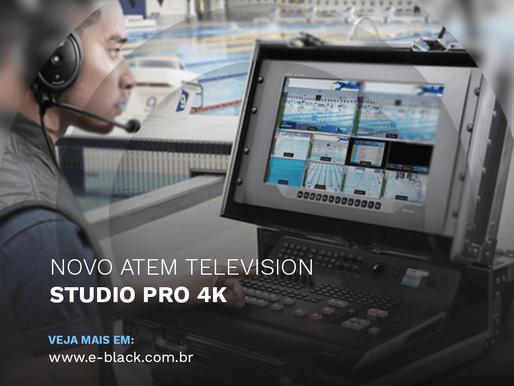 Blackmagic Design Anuncia Novo ATEM Television Studio Pro 4K