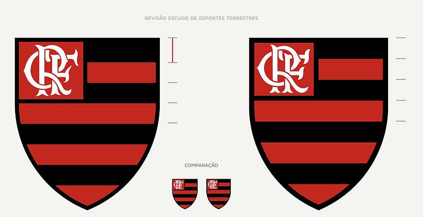Ajustes no Monograma Flamengo