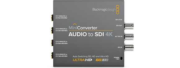 Mini Conversor Audio para SDI 4K