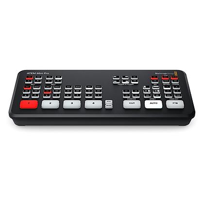 Blackmagic ATEM Mini Pro (Transmissão Ao Vivo)