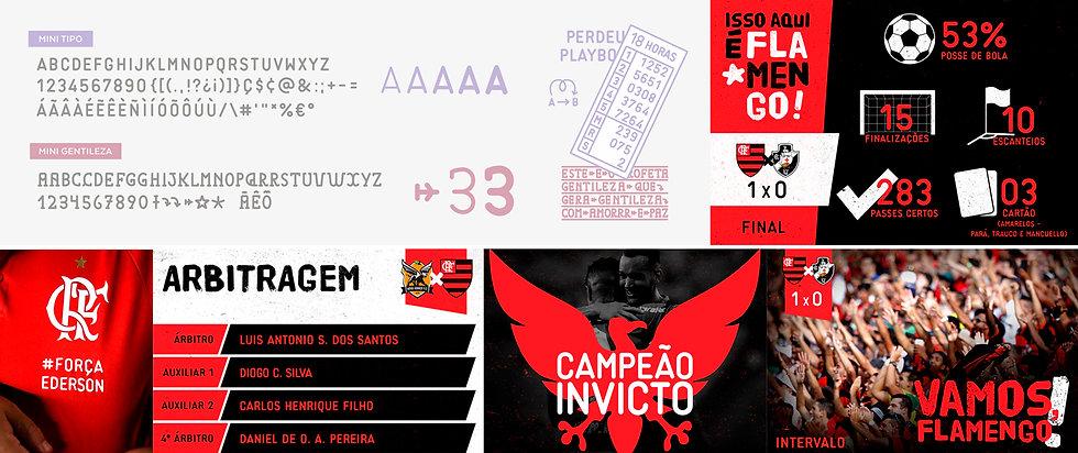Mini tipo Flamengo
