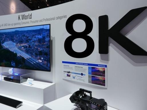 Panasonic, Sony e NHK se unem para fomentar 8K até Tóquio 2020