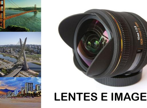 Como surgiram o registro de imagens e as lentes