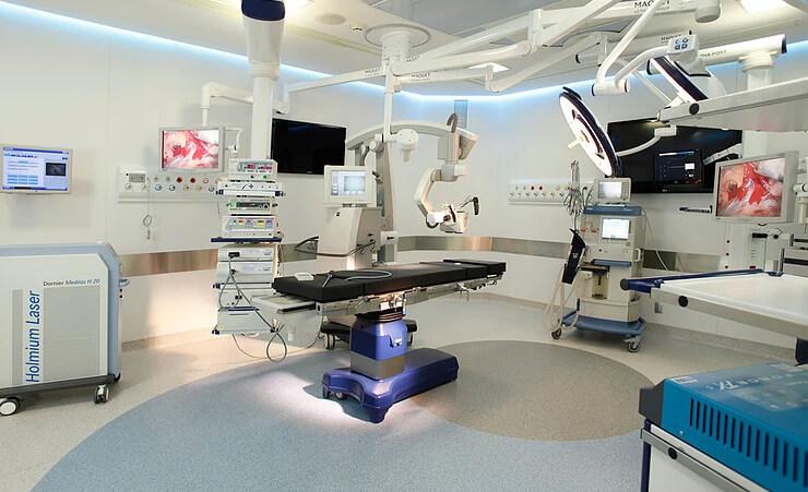 Centro Cirúrgico Urológico