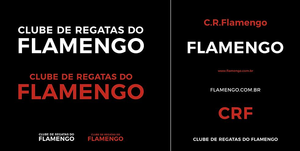 Aplicações Monograma Flamengo