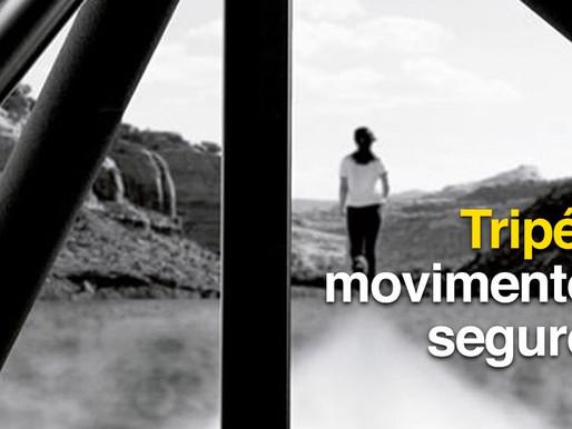 Tripés: movimentos seguros