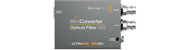 Mini Conversor Optical Fiber 12G
