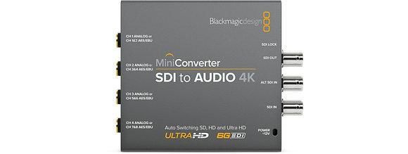 Mini Conversor SDI para Audio 4K
