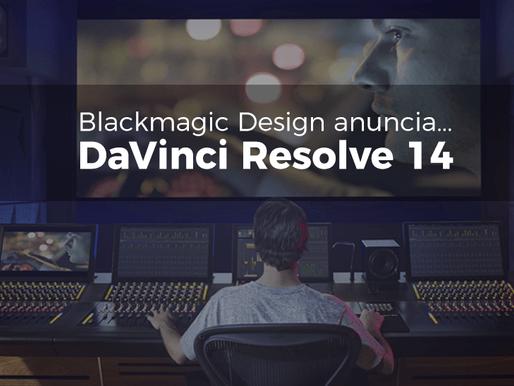 Blackmagic Design Anuncia DaVinci Resolve 14