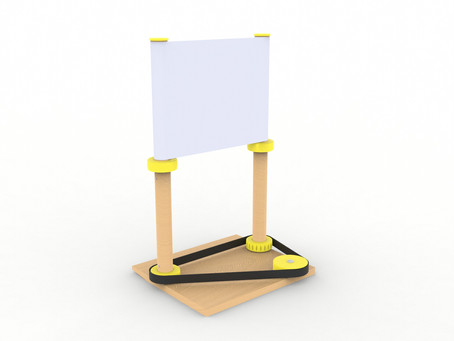 Device for mechanical book page turning for people who observe Shabbat