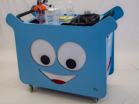 Mobile multipurpose therapy cart