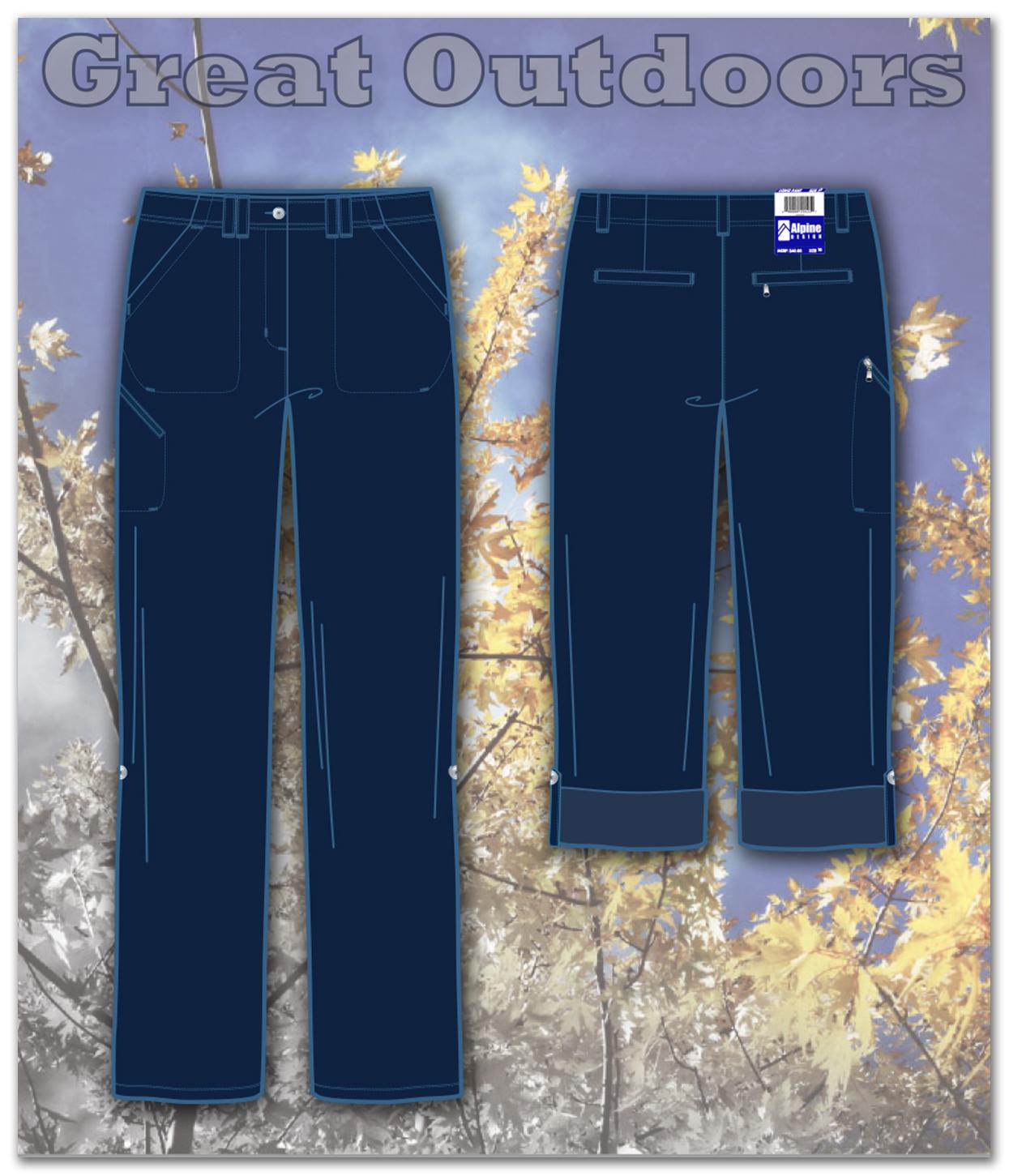 Ladies Woven & Knit Sportswear