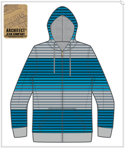 Mens Printed & Lined Fleece Jackets