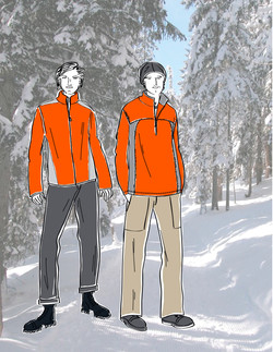 Mens Nordic Fleece