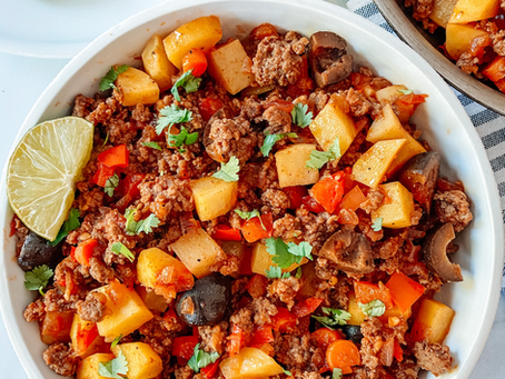 Colombian Beef Picadillo