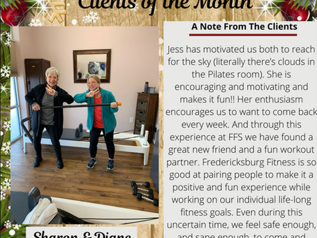 Clients of the Month!
