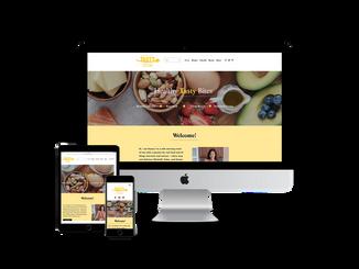 Website Design for Food Blogs