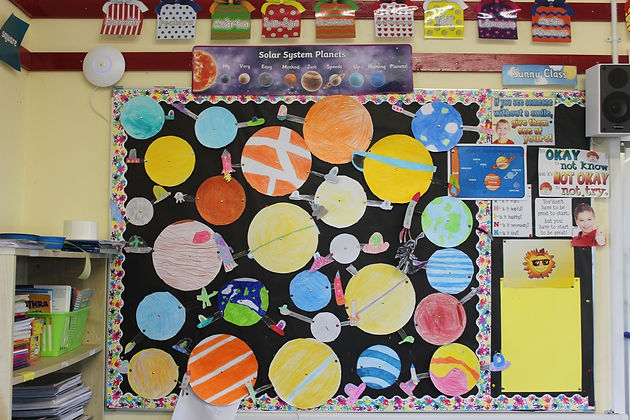 Space Explorers | Barnacarroll National School