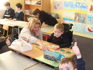 Ms. Kavanagh gets the thumbs up!
