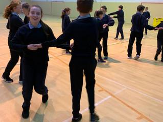 Jiving Juniors comes to Barnacarroll National School!